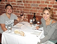 """We loved our dinner at Euno! The room is beautiful, and every course was incredible."" -- American Idols Stefano and Haley"